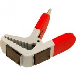 Pince magnétique pour fixer le pinceau