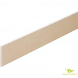 Plinthe en médium bois prépeinte blanche plinthe verso