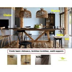 Vernis haute résistance monocomposant mat vernis satin vernis brillant pour bois