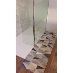 Store enrouleur occultant (60 x H180 cm) blanc