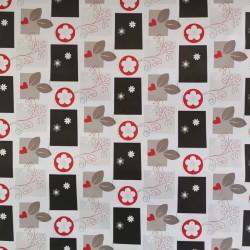 Embrasse aimantée voilages et rideaux Carré Diamant Fuchsia 67095173
