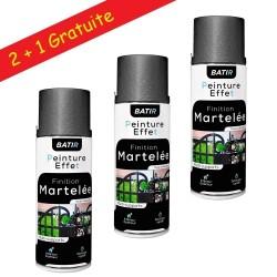 Tringle extensible (1.85 x 3.50 m) à Rideau Métal Couleur Noir Laqué Ø 20 mm + 2 supports plafonds + 2 embouts bouchons