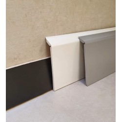 Surplinthes PVC blanche...