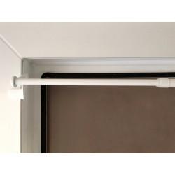 Store enrouleur PVC gris pour intérieur et Extérieur
